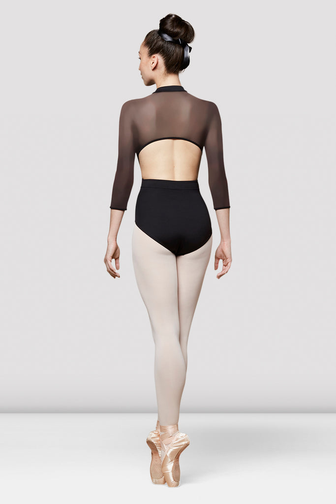 Ladies Lune Mesh Back Leotard