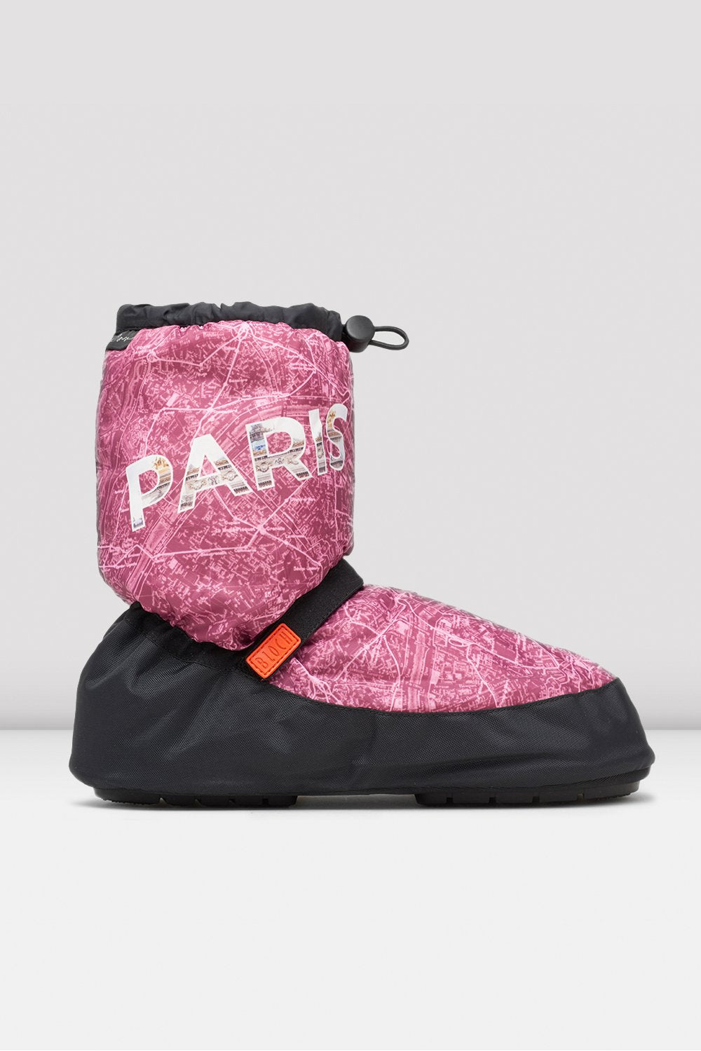 Paris City Map Multi-function Warm Up Booties