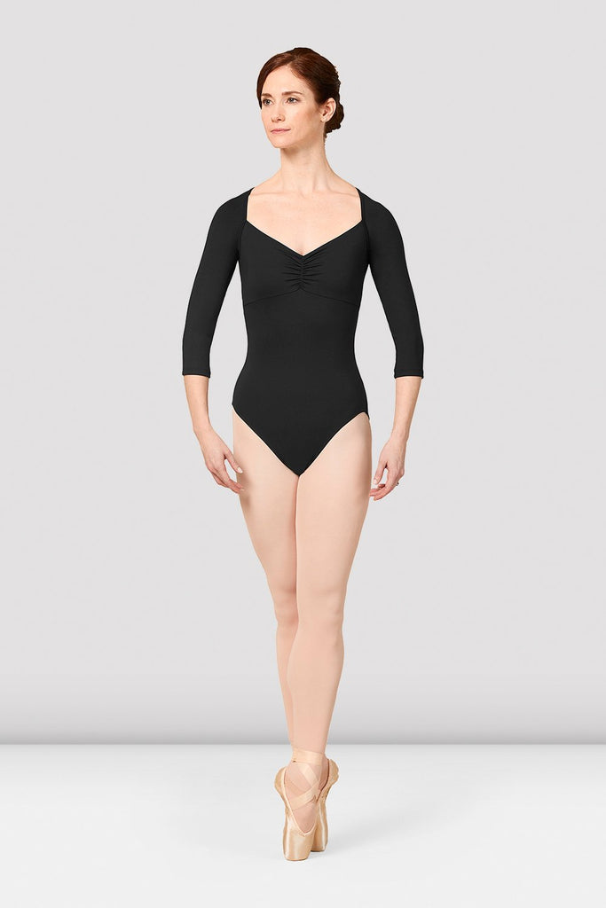 Ladies Mirella Vienna Three Quarter Sleeve Leotard - BLOCH US