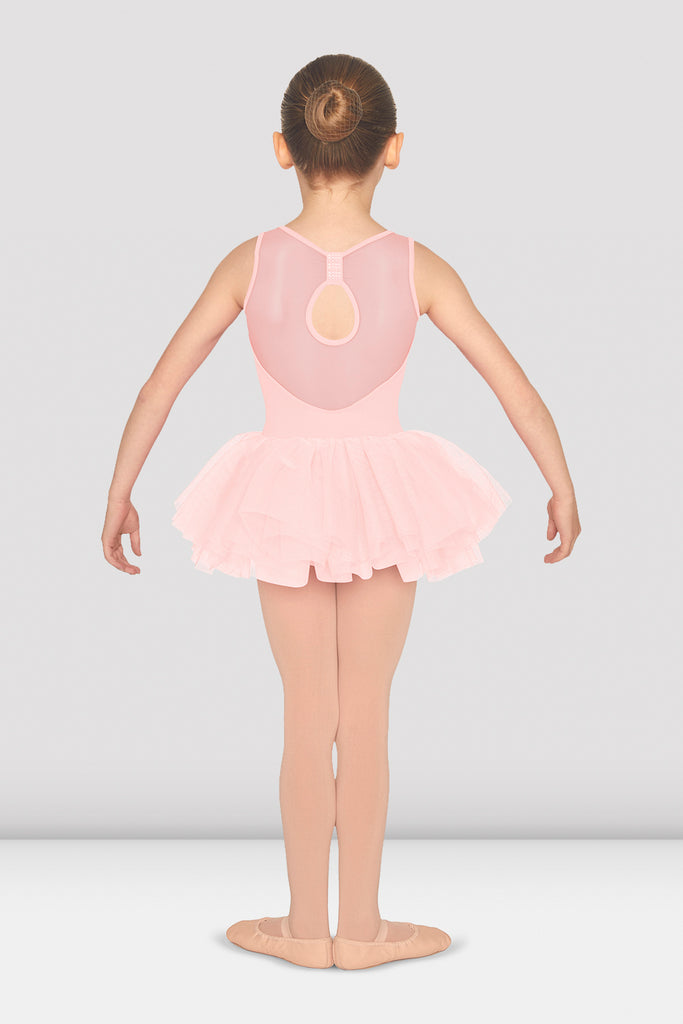 Girls Bow Back Tank Tutu Leotard - BLOCH US