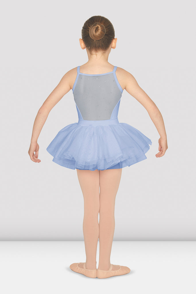 Girls Diamante Mesh Back Tutu Camisole - BLOCH US