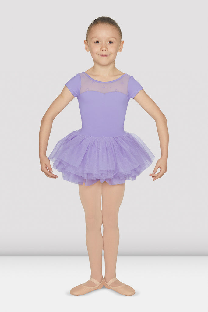 Girls Sweetheart Cap Sleeve Tutu Leotard - BLOCH US