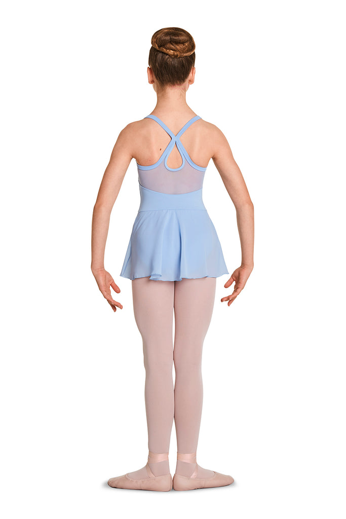 Girls Mirella Velvet Skirted Camisole Leotard - BLOCH US