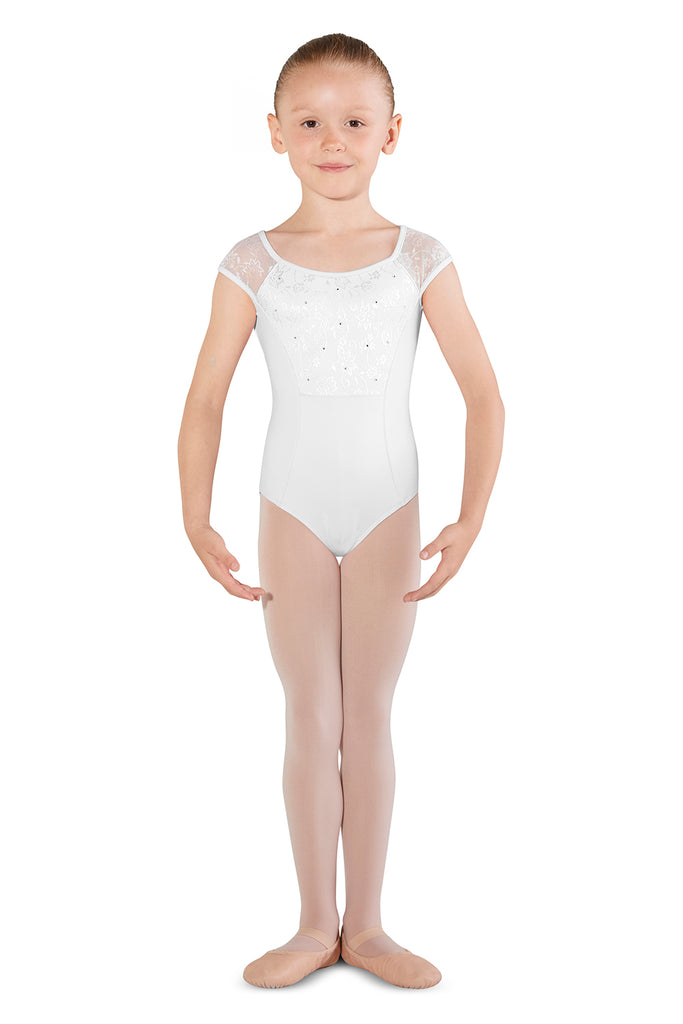 Girls Mirella Dhalia Cap Sleeve Leotard - BLOCH US
