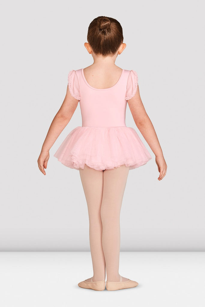 Girls Mirella Vienna Frill Sleeve Tutu Dress - BLOCH US