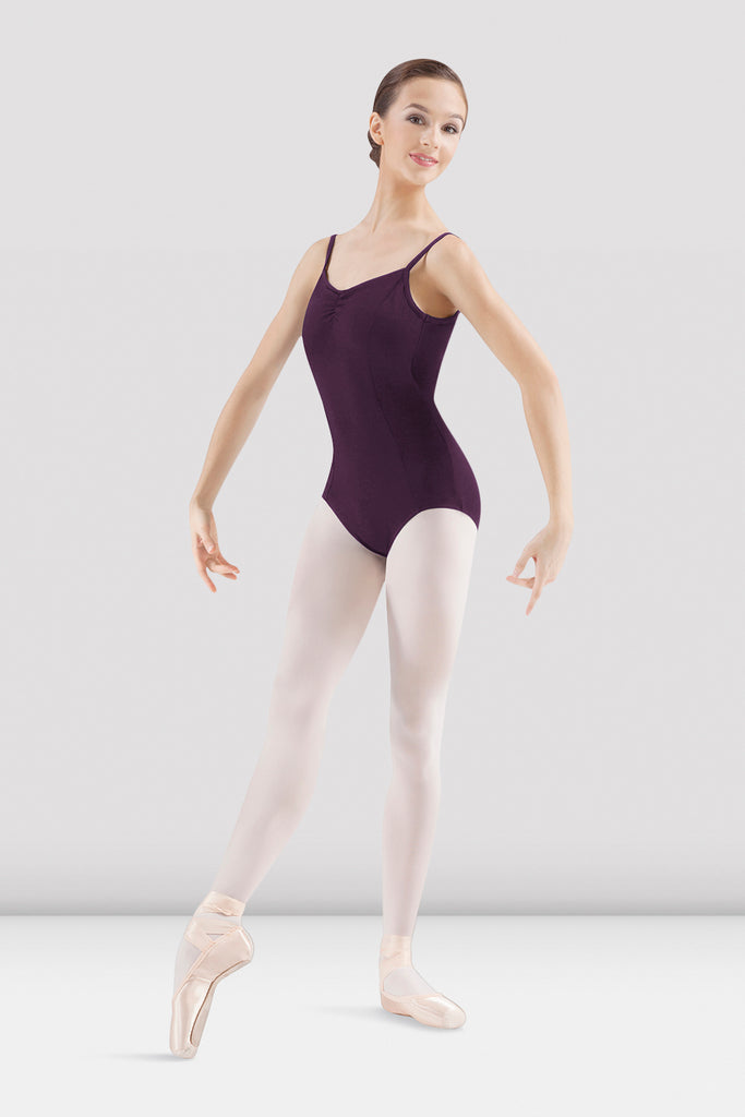Ladies Mirella Pinch Seam Camisole Leotard - BLOCH US
