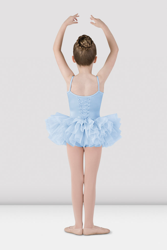Girls Mirella Lace Up Back Tutu Dress - BLOCH US