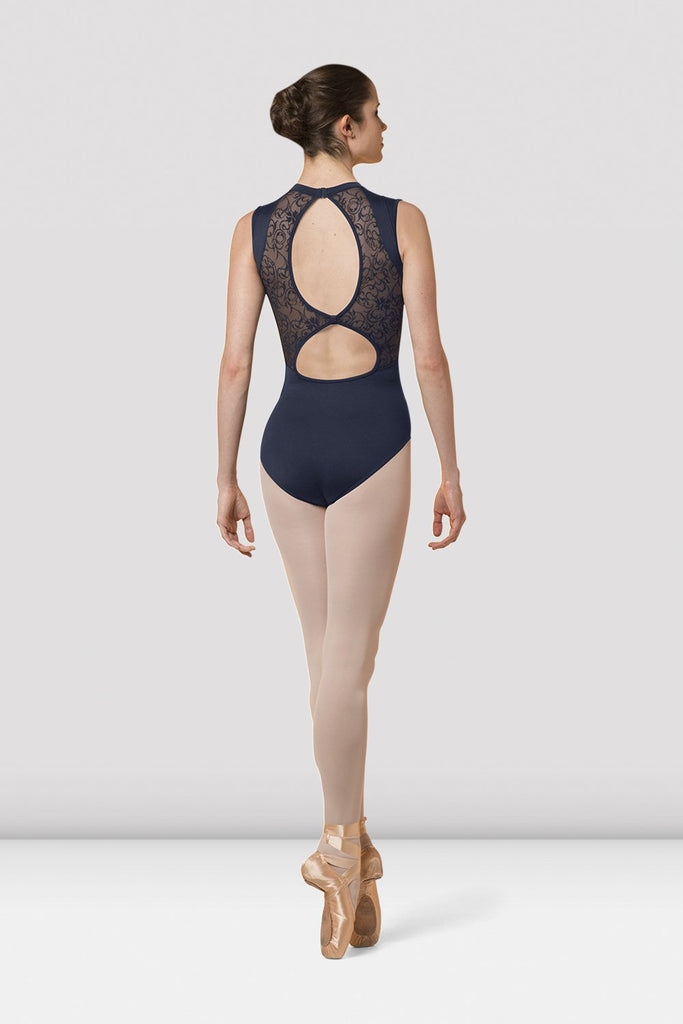 Ladies Mirella Open Back Leotard