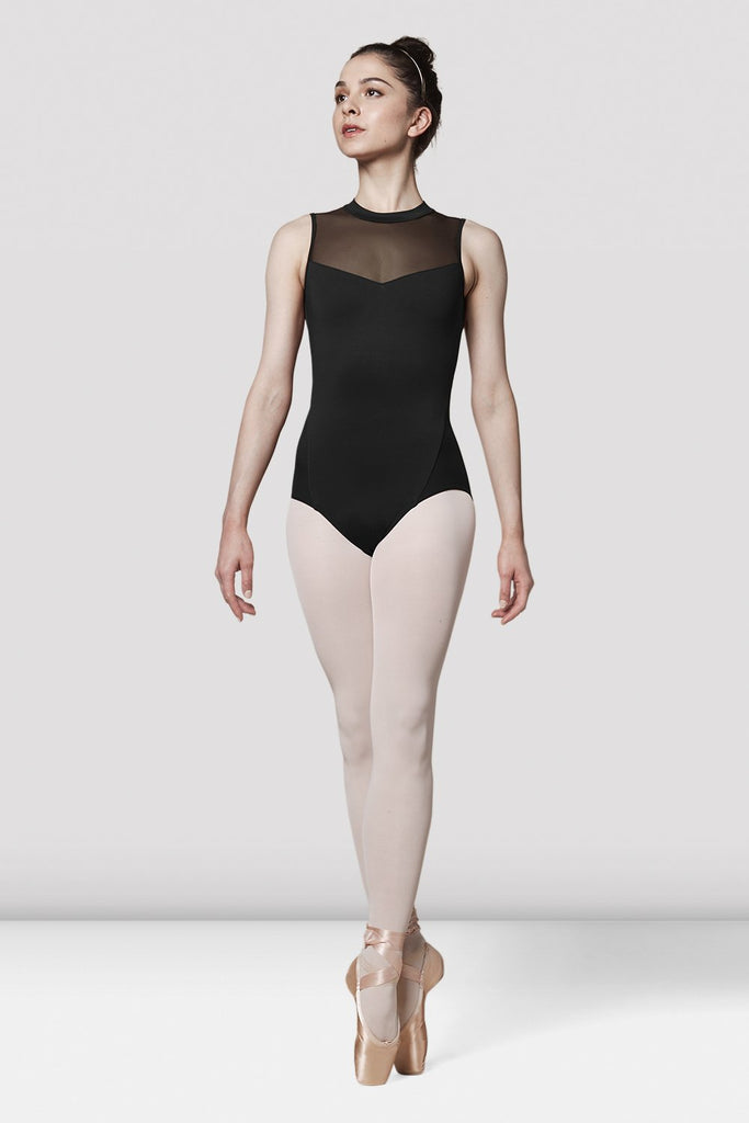 Ladies Mirella Messina Mesh Panel Leotard - BLOCH US