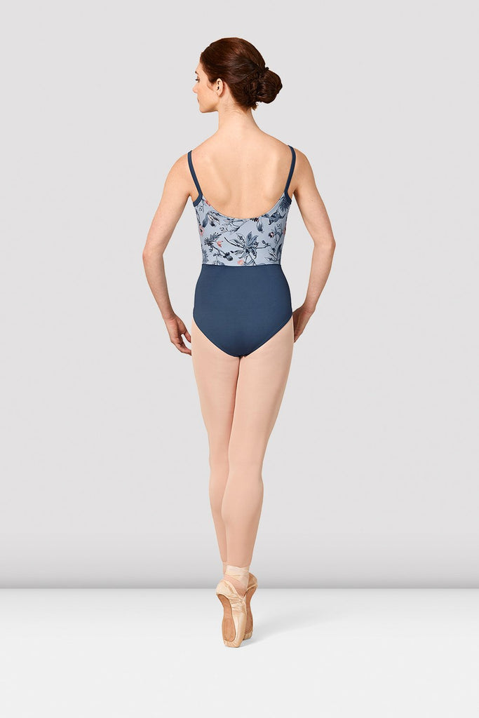 Ladies Mirella Jasmine Print Camisole Leotard - BLOCH US