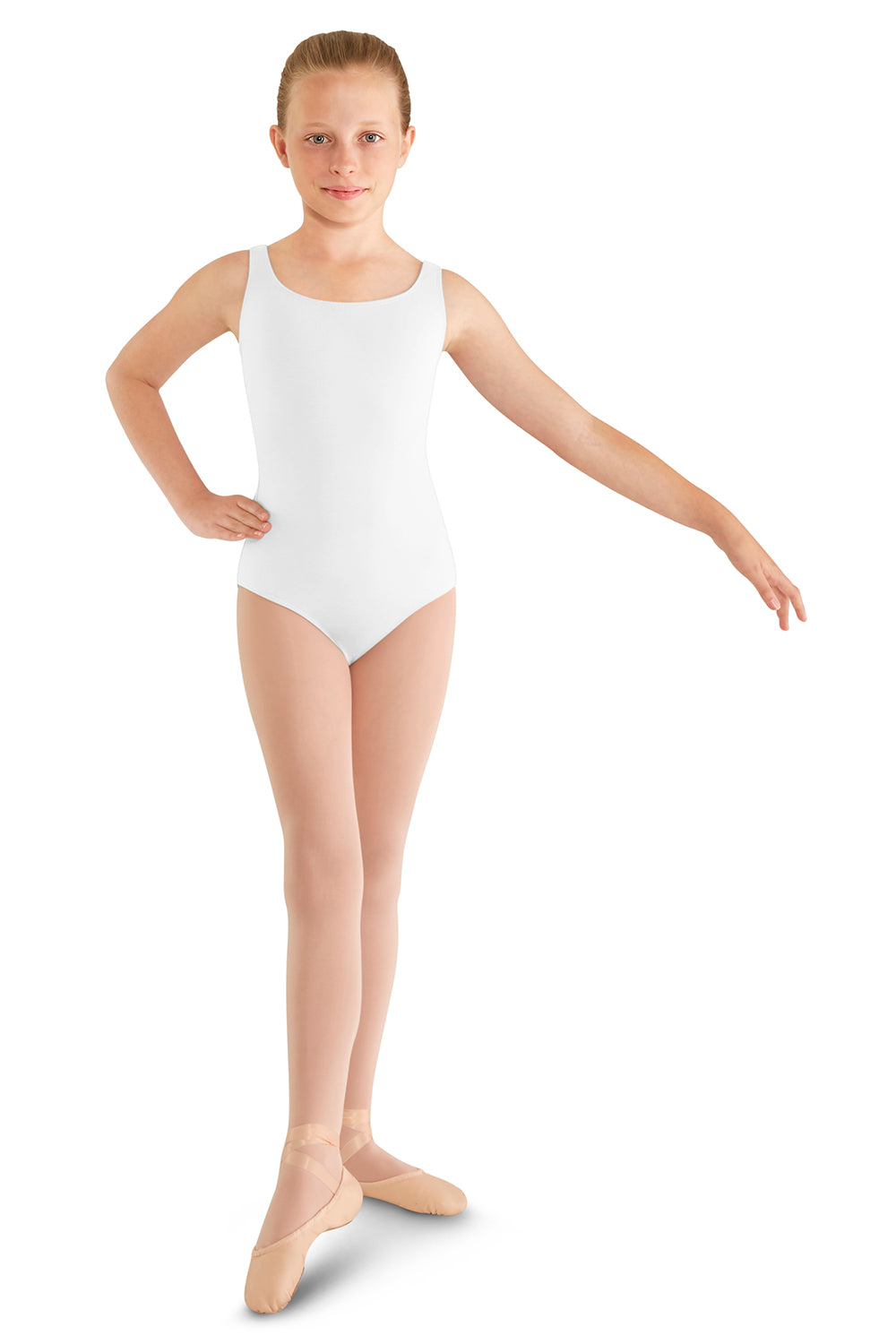 Girls Mirella Tank Leotard with Support