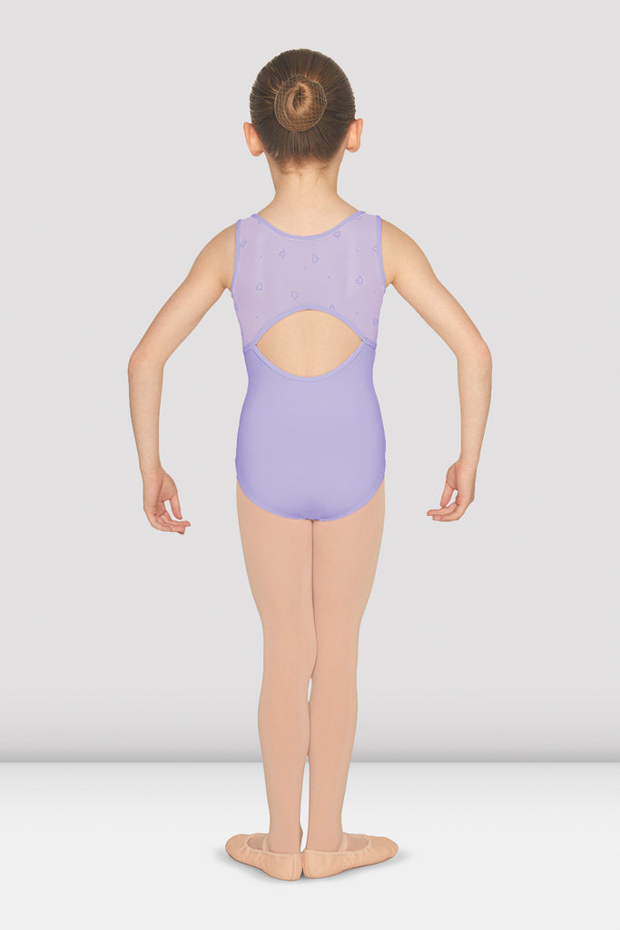 Girls Gathered Open Back Tank Leotard - BLOCH US