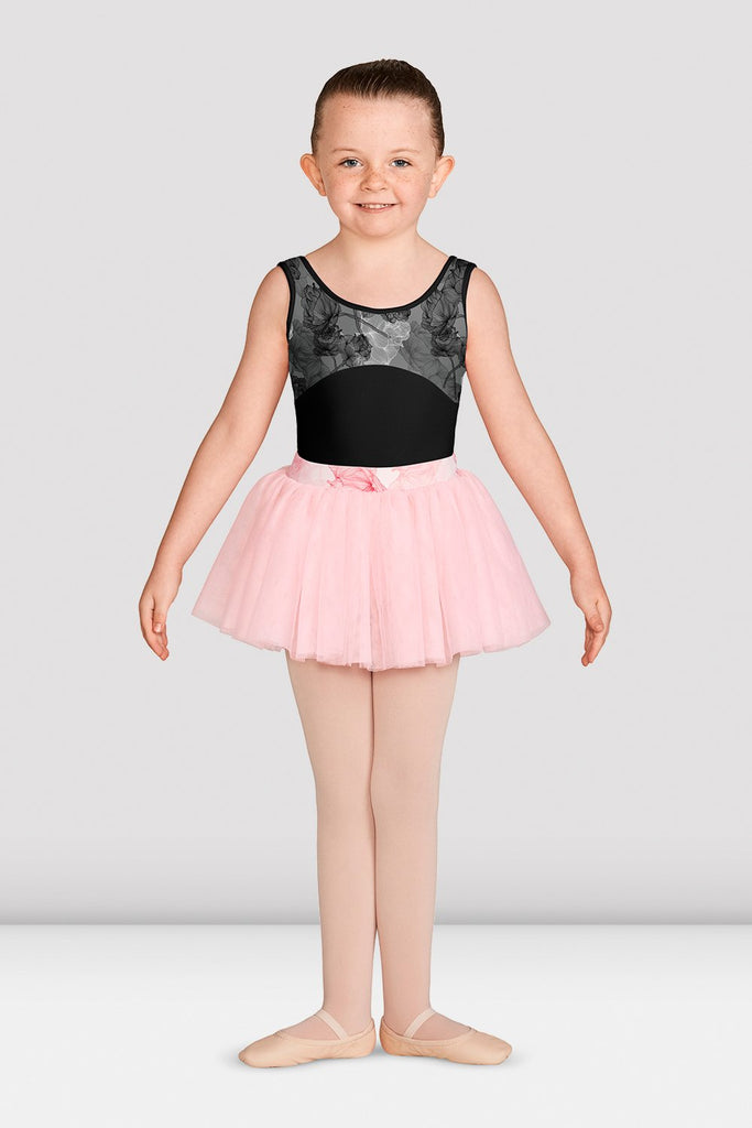 Girls Jasmine Print Tank Leotard - BLOCH US