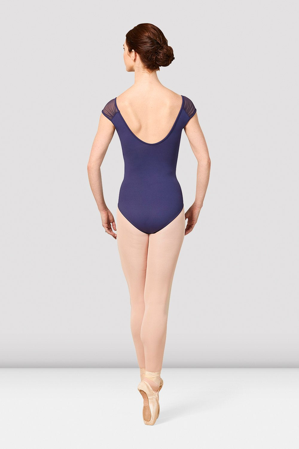 Ladies Mirella Vienna Cap Sleeve V-Neck Leotard - BLOCH US