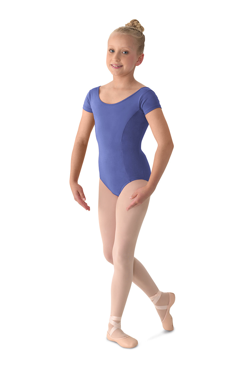 Girls Mirella Cap Sleeve Leotard