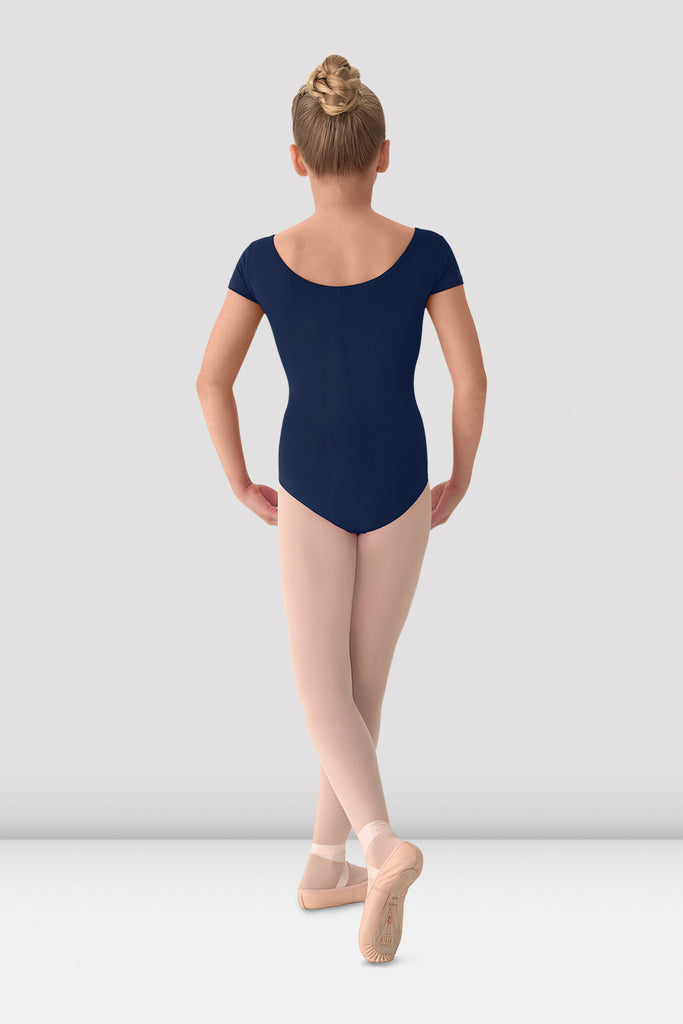 Girls Mirella Classic Short Sleeve Leotard - BLOCH US