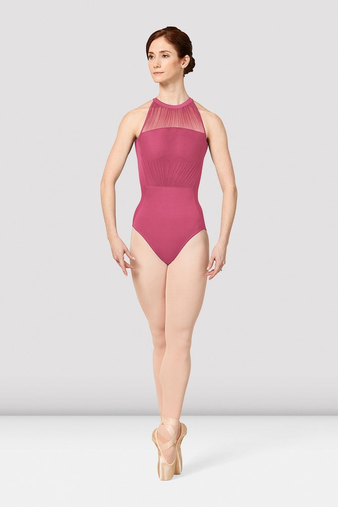 Ladies Mirella Vienna Mesh Open Back Leotard - BLOCH US