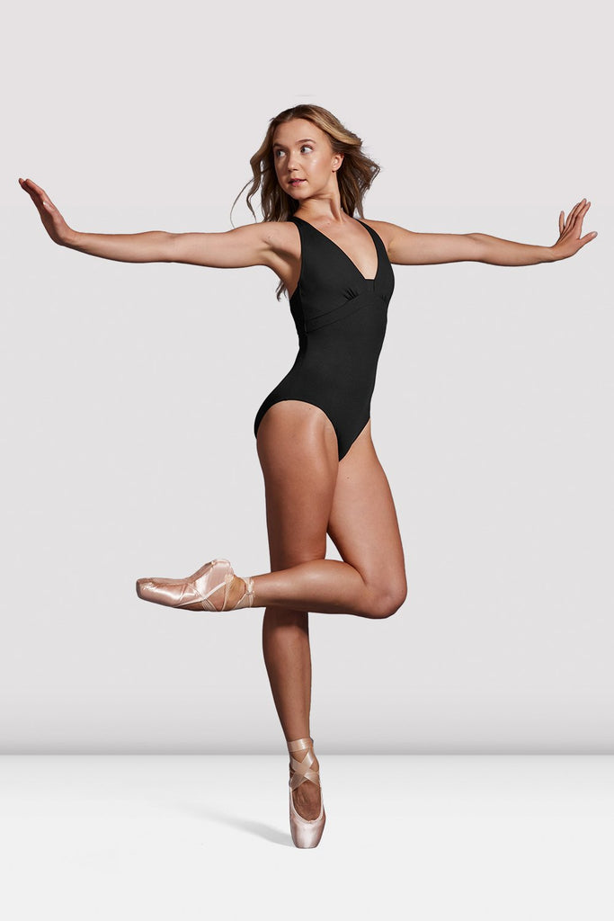 Ladies Mirella Black Label Halterneck Leotard - BLOCH US
