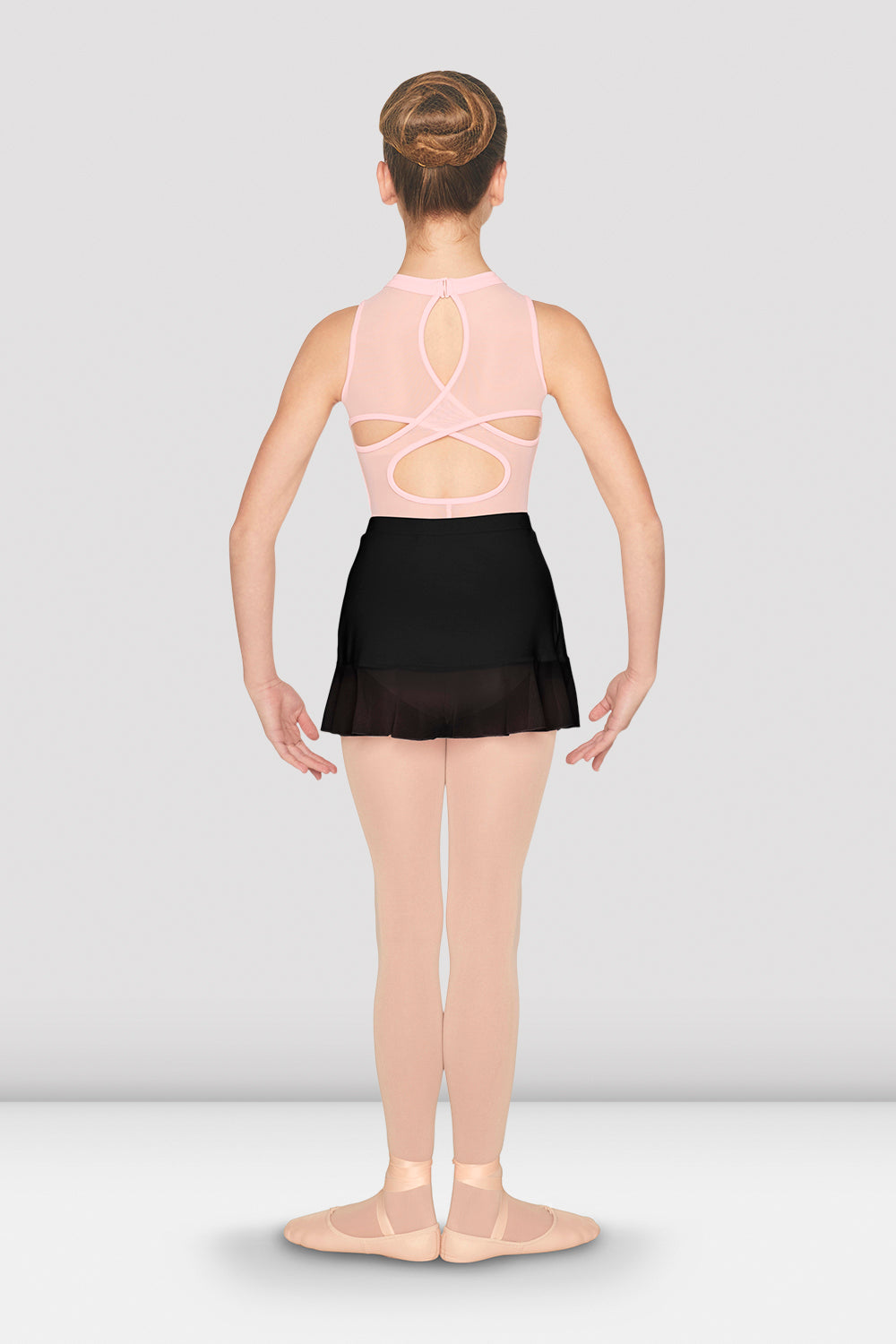 Girls Mesh Side Split Skirt - BLOCH US