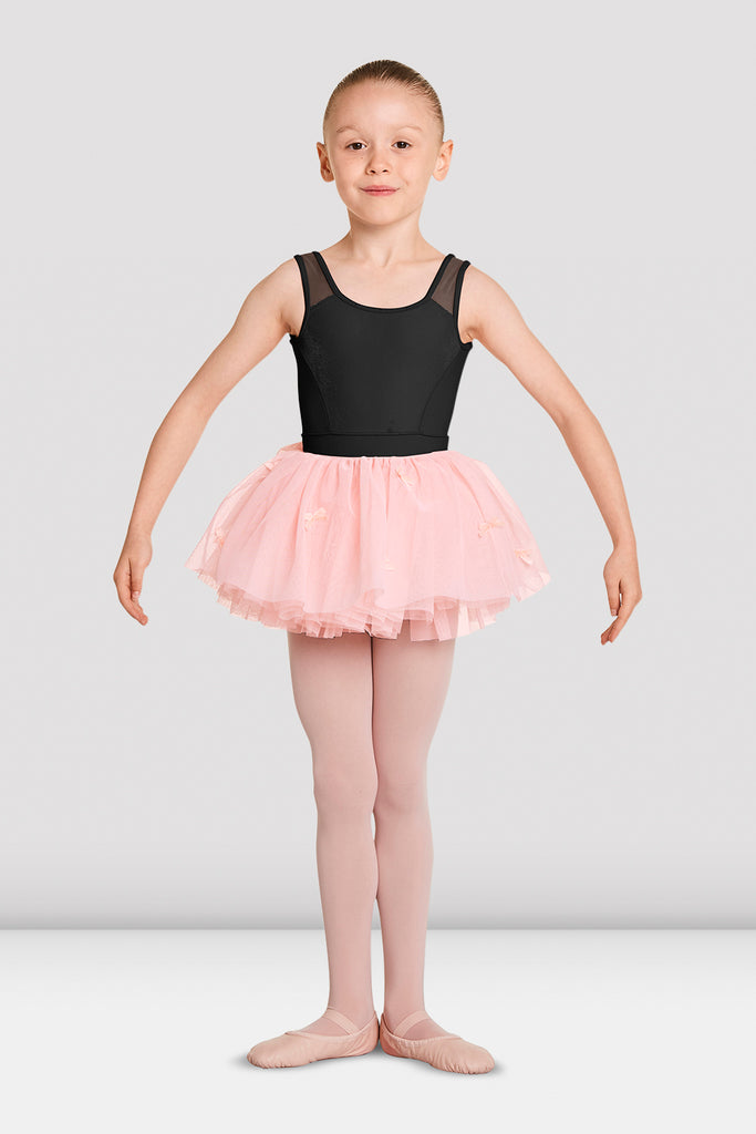 Girls Mirella Bow Tulle Tutu - BLOCH US