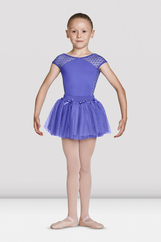 Girls Mirella Bow Motifs Tutu Skirt - BLOCH US
