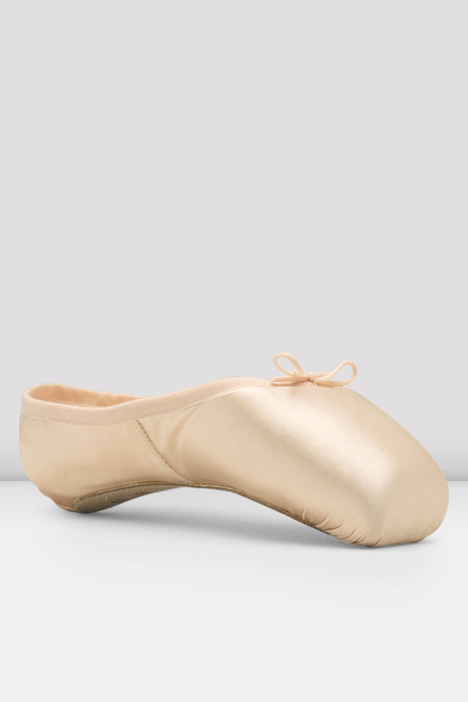 Pink satin Bloch Mirella Whisper Pointe Shoes single shoes