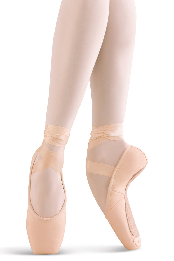 Mirella Whisper Matte Pointe Shoes - BLOCH US