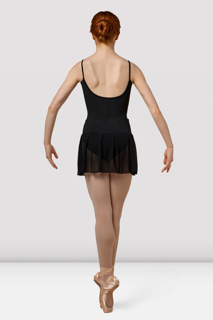 Ladies Mirella Splice Pull On Mesh Skirt - BLOCH US
