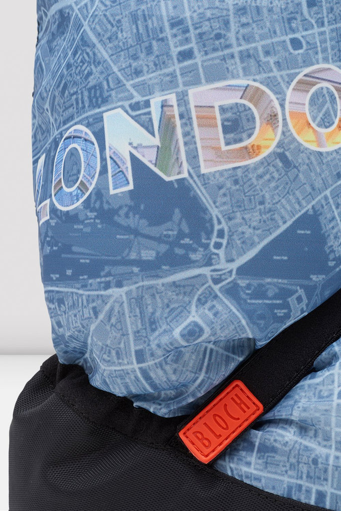 London City Map Multi-function Warm Up Booties - BLOCH US