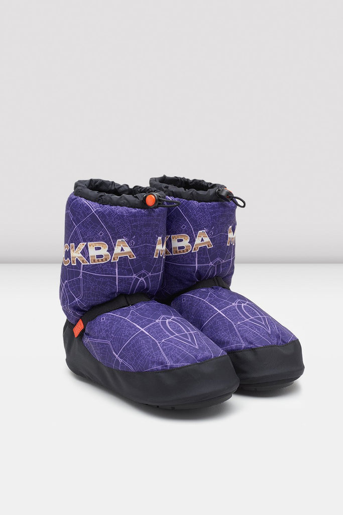 Moscow City Map Multi-function Warm Up Booties