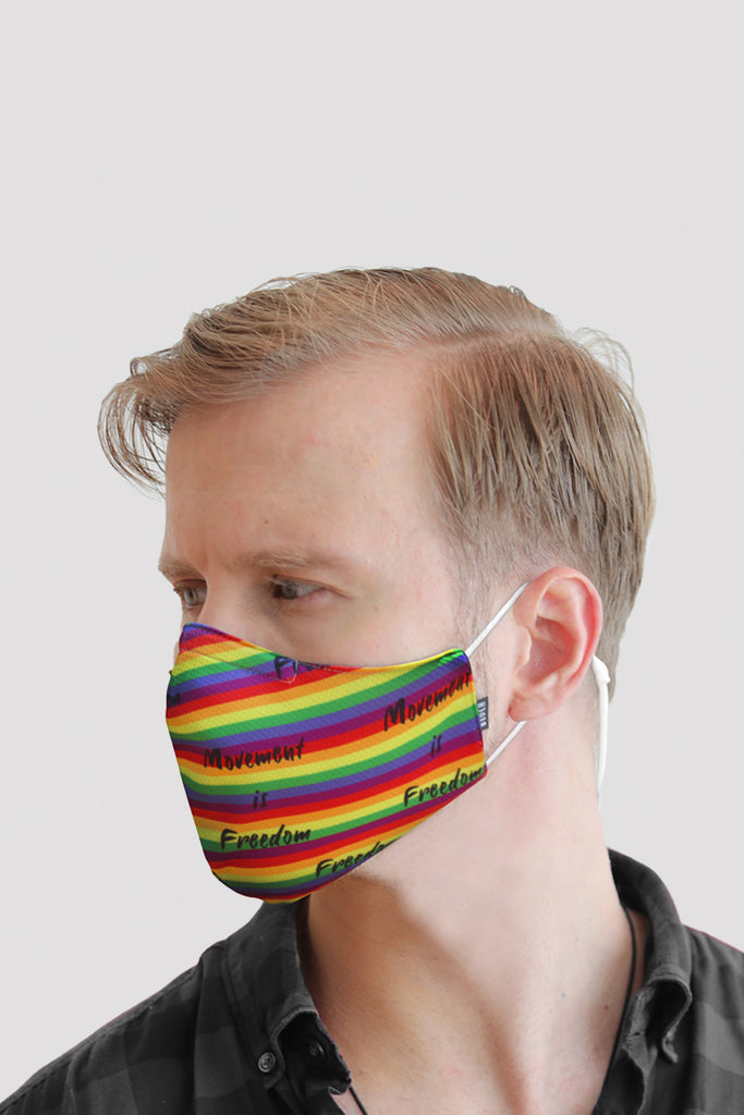BLOCH B-Safe Adult Rainbow Face Mask - BLOCH US