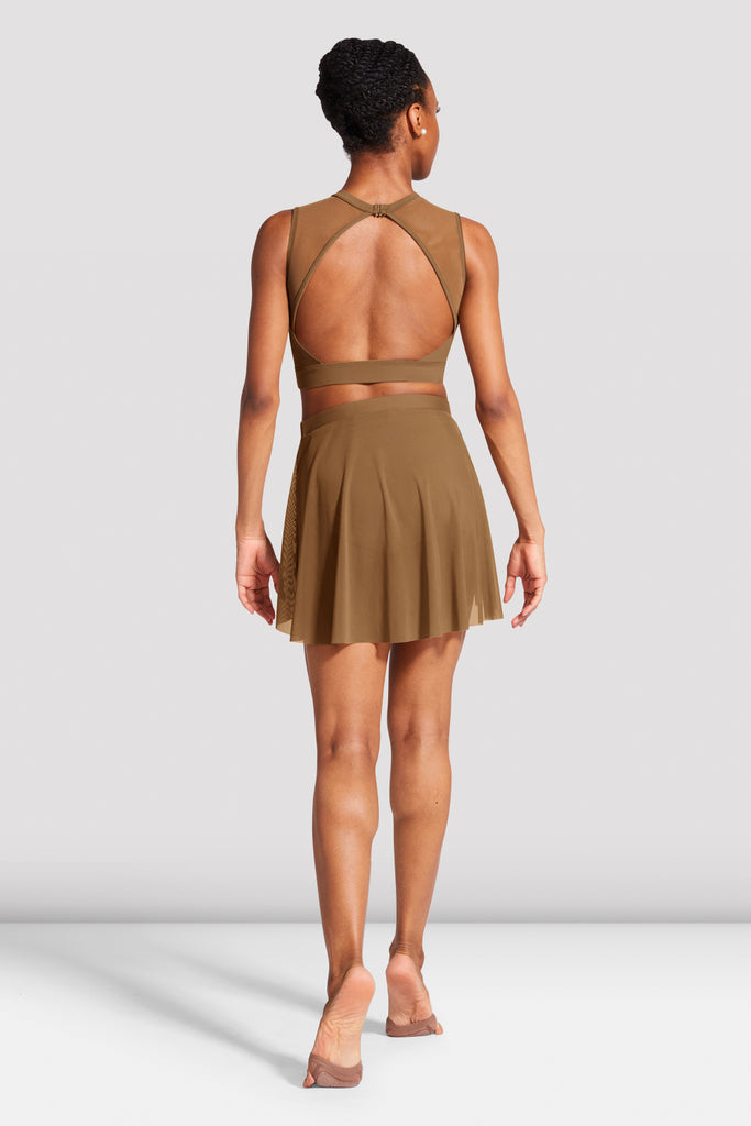Ladies Emiko Open Back Crop Top - BLOCH US