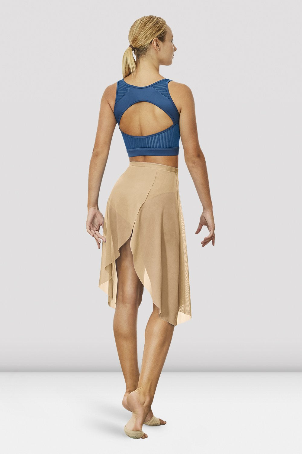 Ladies Hadlee Wrap Front Skirt - BLOCH US