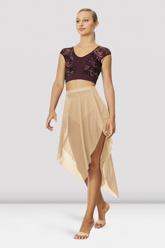 Ladies Mireya Asymmetric Skirt