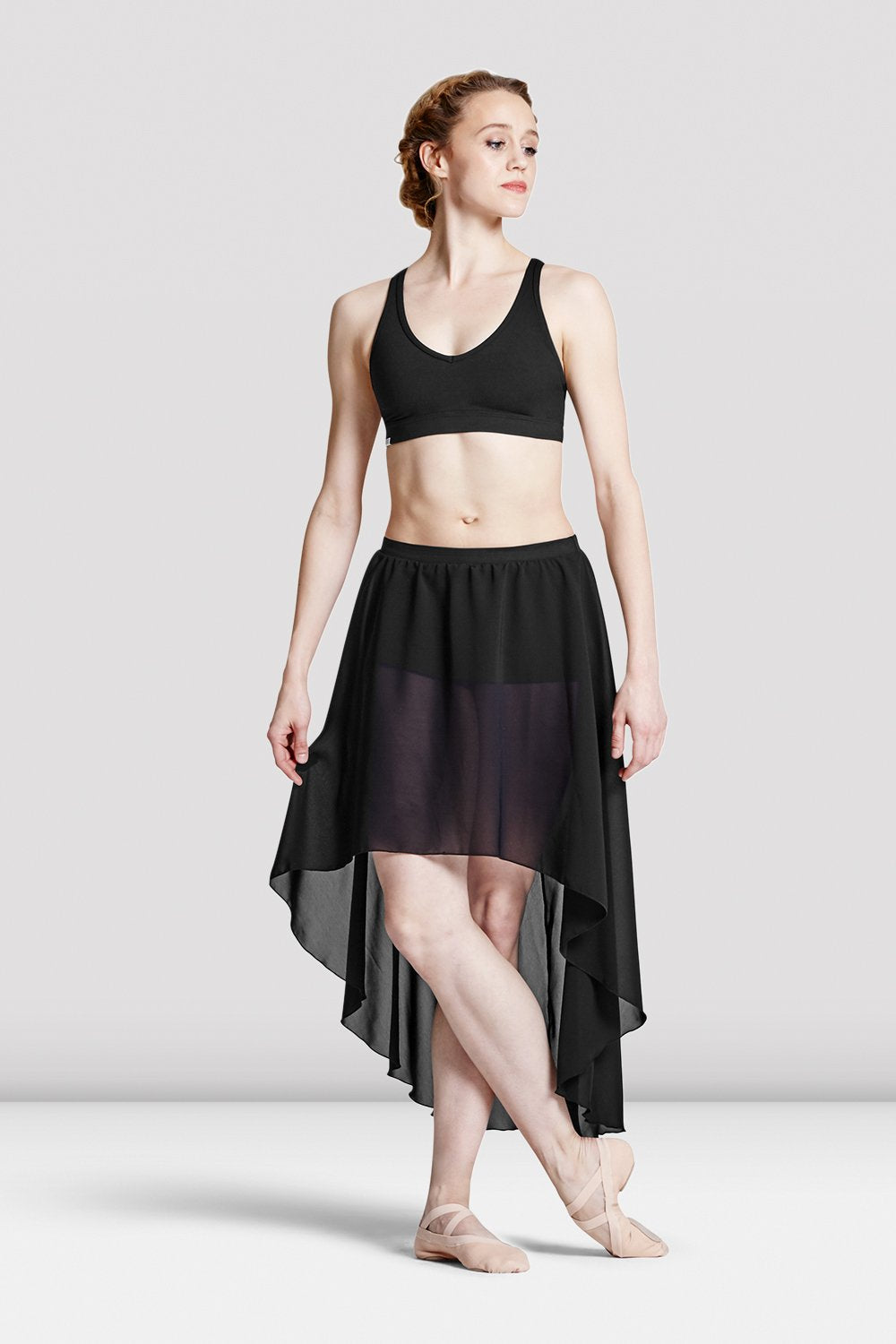 Ladies Daria Hi-Lo Skirt With Shorts