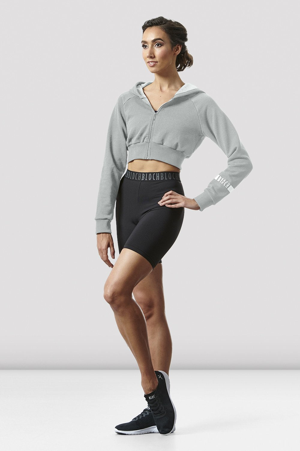Ladies Logo Waist Bike Short - BLOCH US