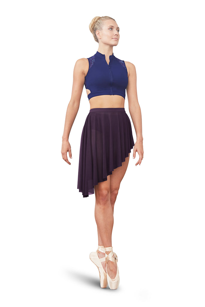 Ladies Asymmetric Skirt - BLOCH US
