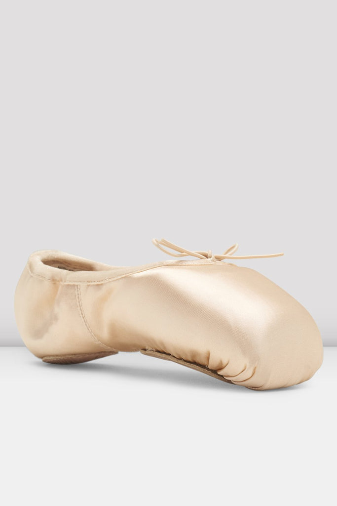 Pink Satin Bloch Eurostretch Pointe Shoes single shoe