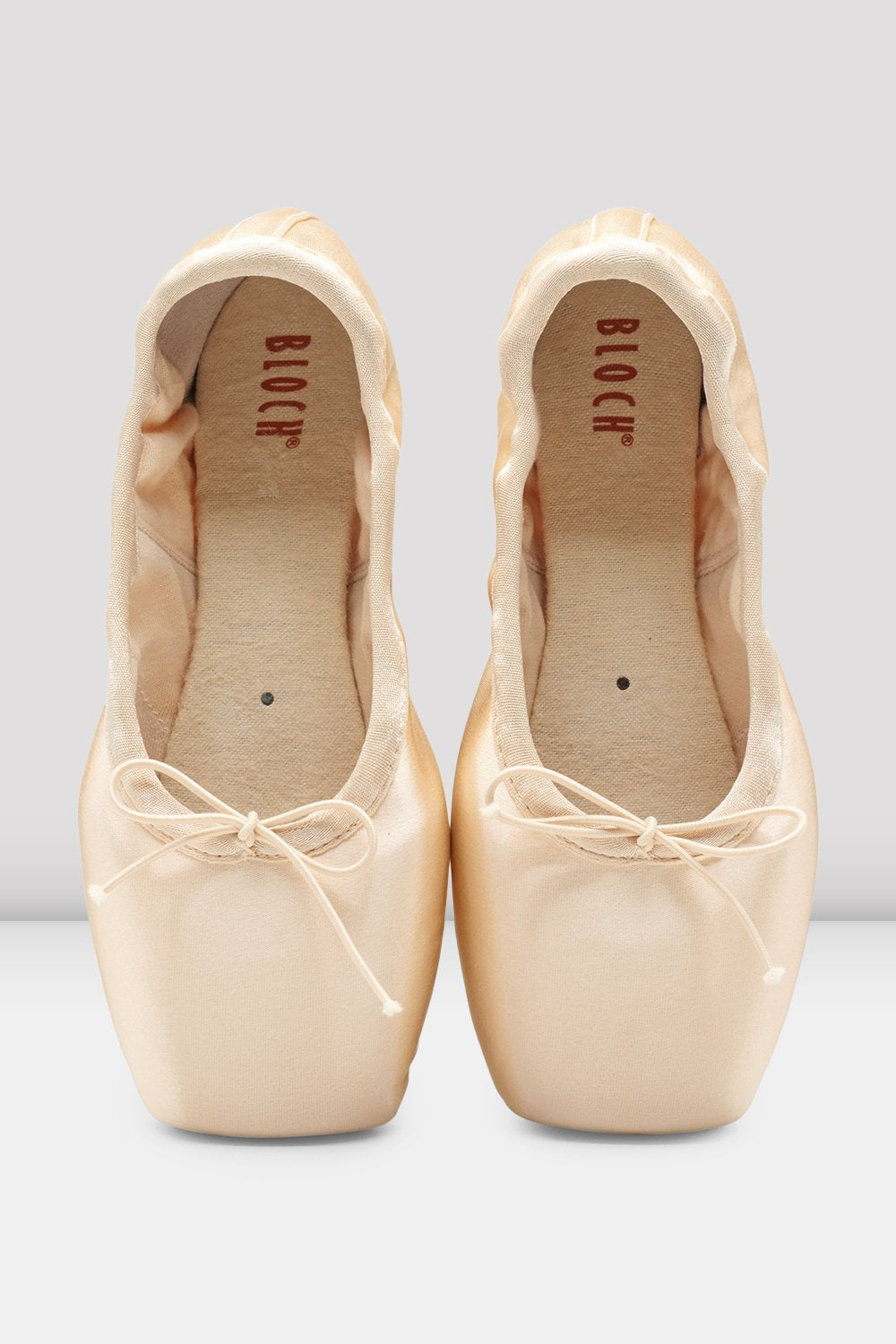 Pink Satin Bloch Eurostretch Pointe Shoes
