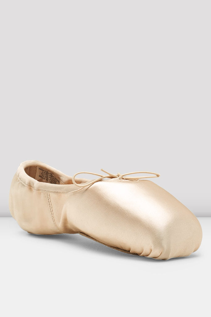 Pink Satin Bloch Superlative Stretch Pointe Shoes single shoe