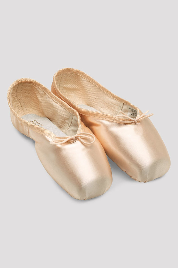 Pink Satin Bloch Heritage Pointe Shoes  pair of shoes