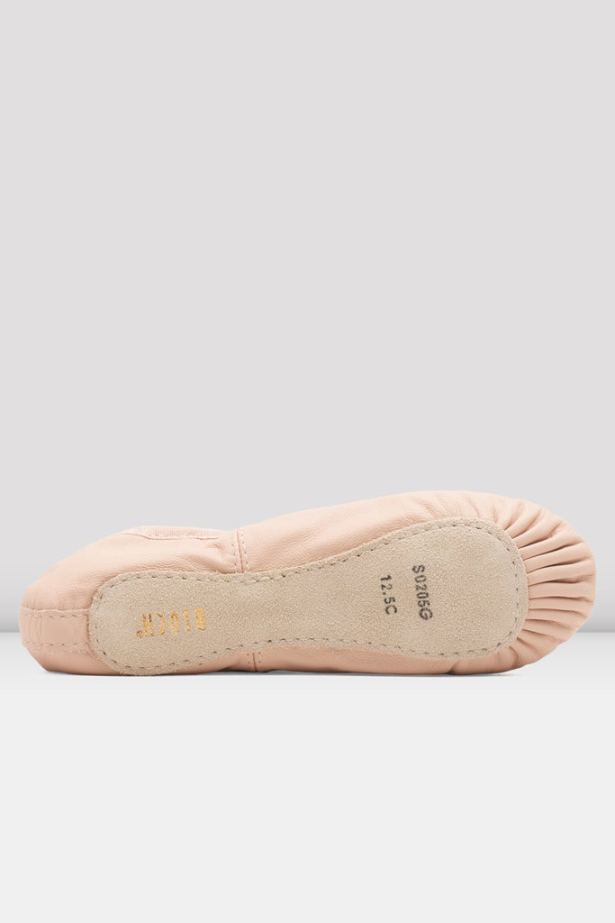 Girls Dansoft Leather Ballet Shoes - BLOCH US