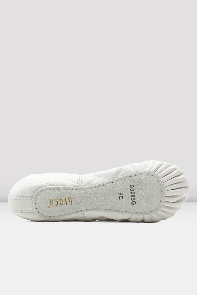 Toddler Dansoft Leather Ballet Shoes - BLOCH US
