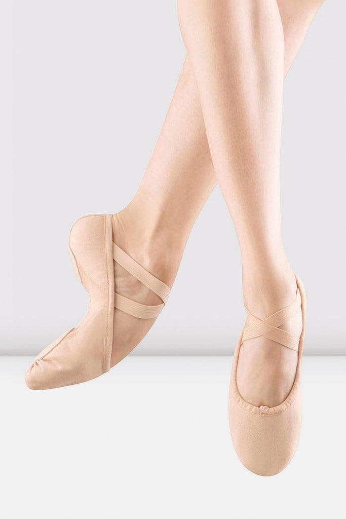 Ladies Proflex Canvas Ballet Shoes - BLOCH US