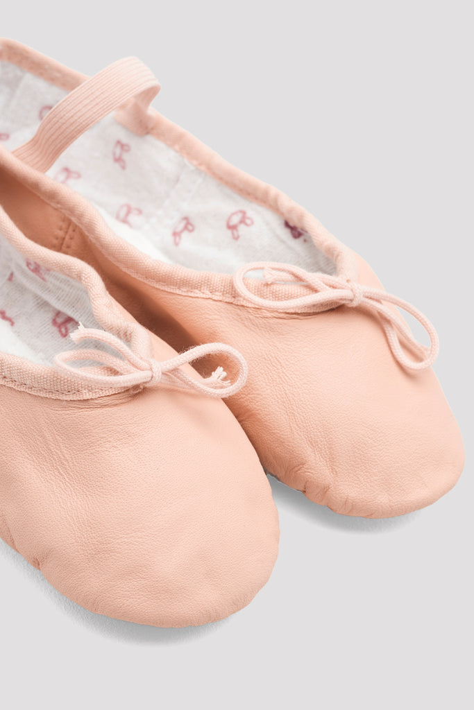 Girls Bunnyhop Leather Ballet Shoes - BLOCH US