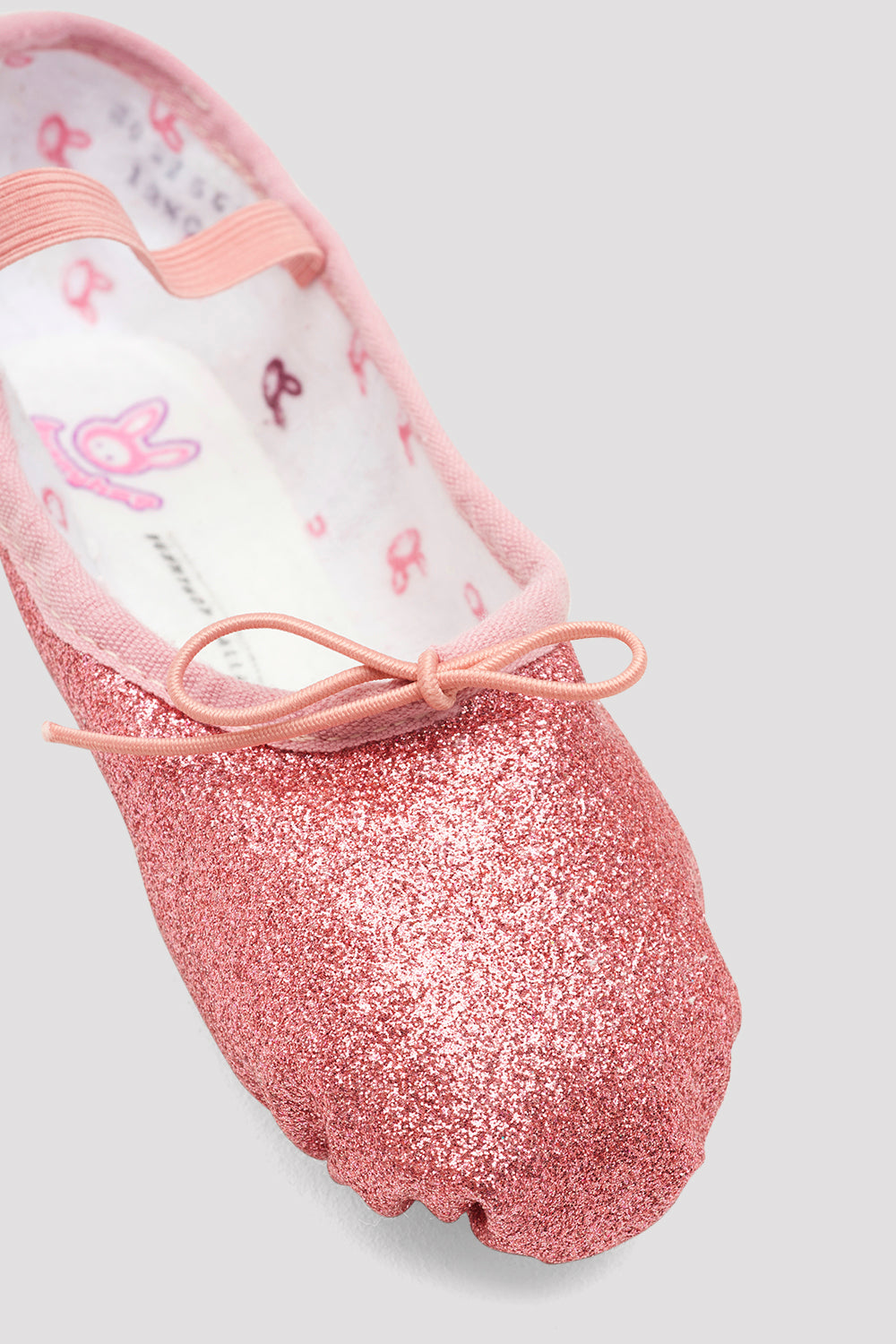 Girls Glitterdust Ballet Shoes
