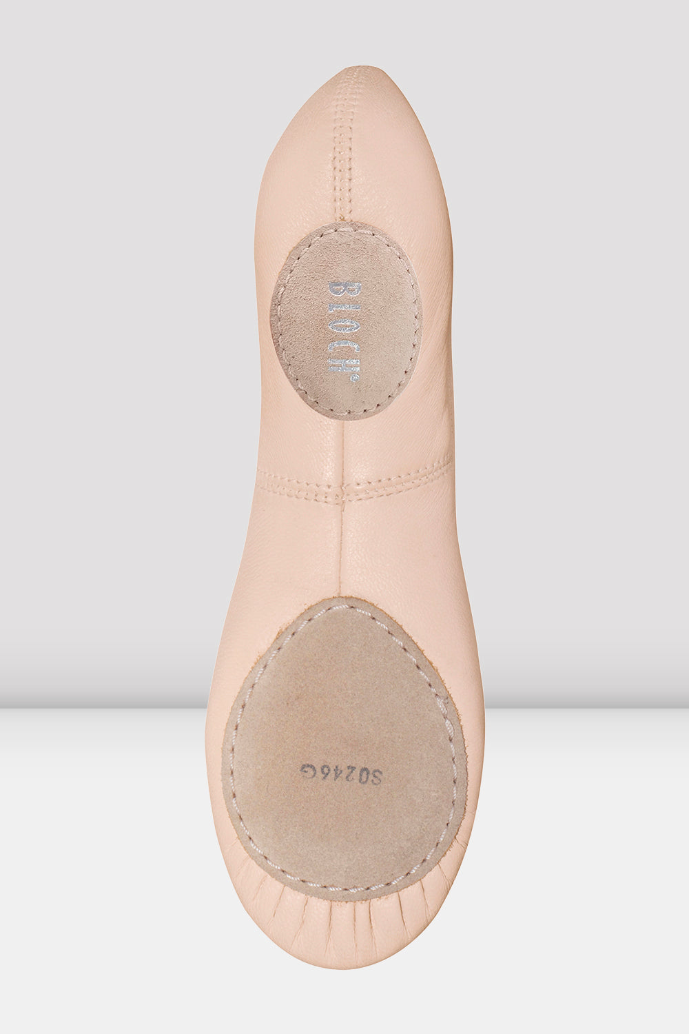 Girls Odette Leather Ballet Shoes