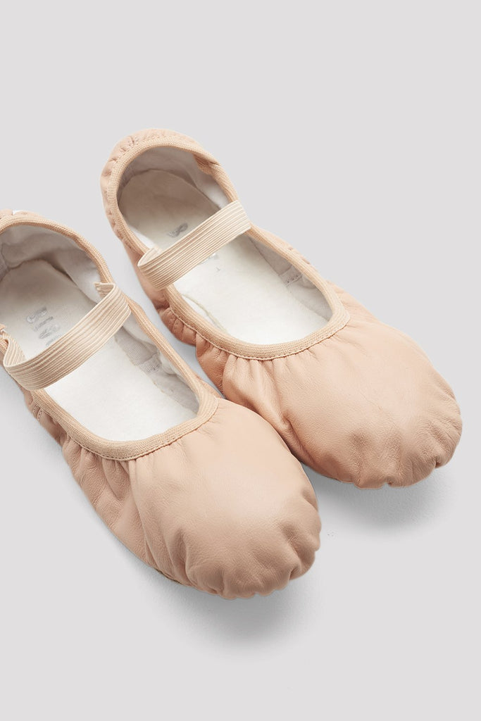 Ladies Giselle Leather Ballet Shoes - BLOCH US