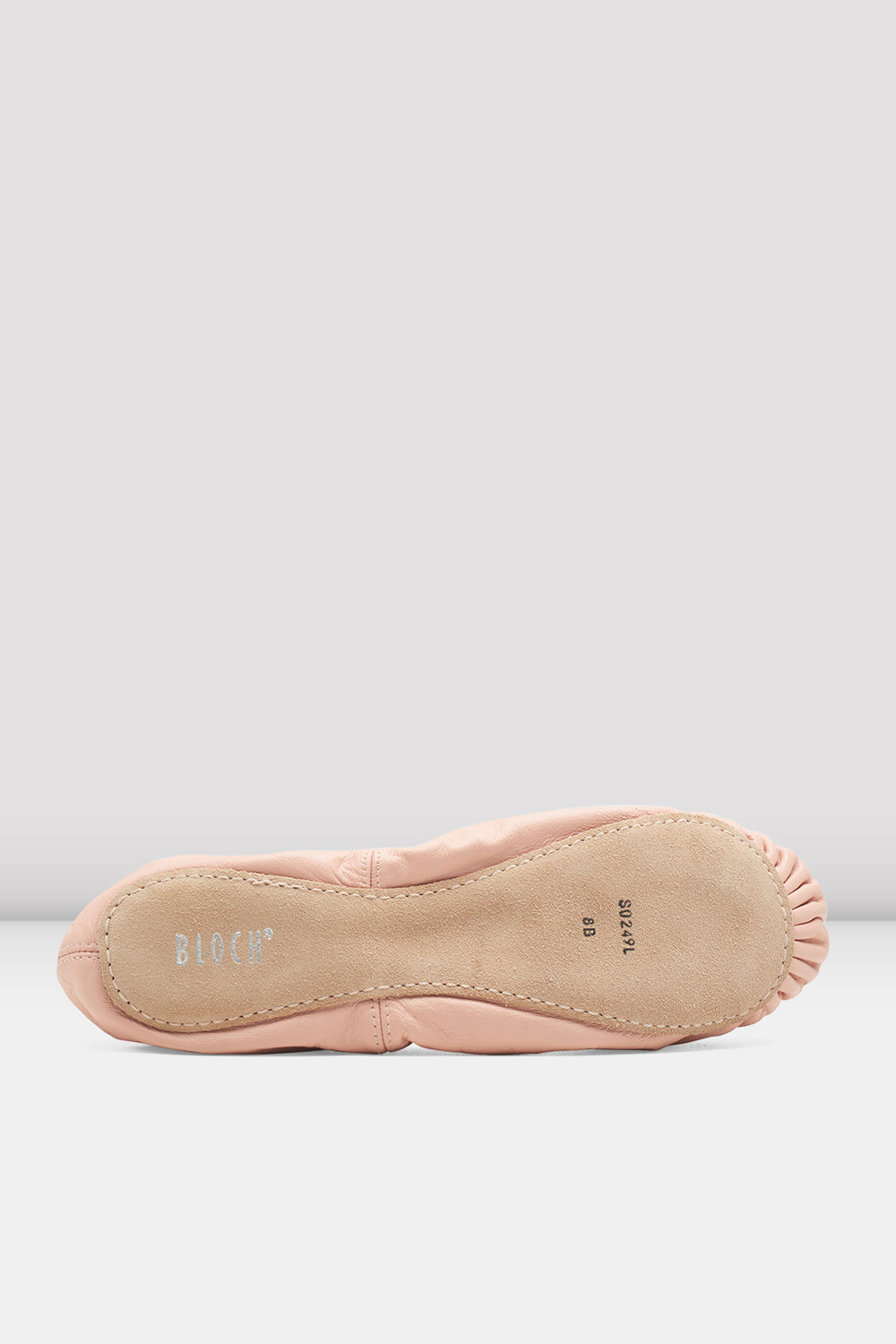 Girls Giselle Leather Ballet Shoes - BLOCH US