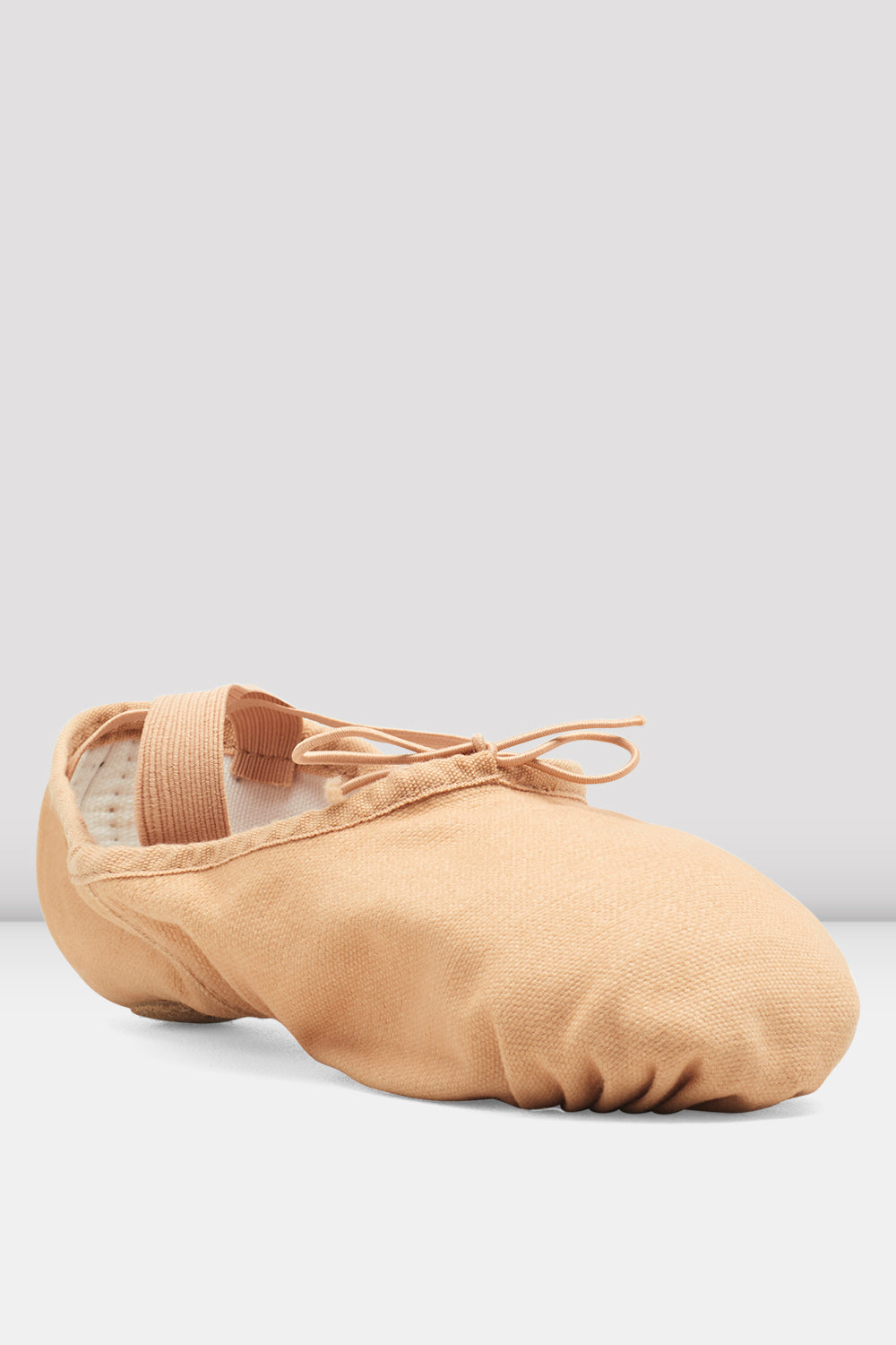 Bloch Dance Mens Pump Split Sole Canvas Ballet Slipper//Shoe Dance Flesh 4.5 D US S0277M